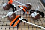 Cake Pop Spiders