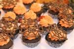 Chocolate Malt Spider Cupcakes