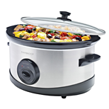 Stainless 6L Slow Cooker